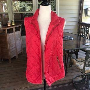 Old Navy pink vest